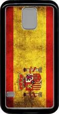 funda carcasa plastico rigido case Samsung Galaxy S5 mini bandera espana