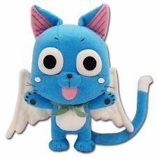 """Great Eastern GE-6968 Animation Official Fairy Tail Anime Happy 8"""" Plush , New,"""
