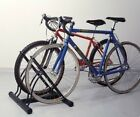 2 Bike Rack Stand Two Floor Freestanding Tidy Bicycle Tidy Shop Cycle Storage