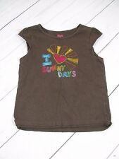 """Circo"" Girls Brown Tank Top Size 5T - A865"