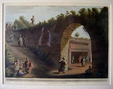 ENGRAVINGS PALESTINE/HOLY LAND ENTRANCE SEPULCHRE OFJUDAH KING  LUIGI MEYER 1803
