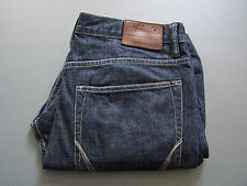 ALL SAINTS RESIN SPLIT JEANS MEN'S W32 BLUE DROPPED LOW CROTCH VINTAGE LEVY268