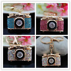 Fashion Crystal Camera keychain Purse Bag Charm Pendent Key Chain Ring YSK248