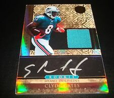 Clyde Gates Dolphins Abilene Christian 2011 Panini RC Certified Jersey Auto JG