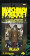 DC DIRECT COLLECTIBLES WATCHMEN MOVIE SERIES RORSCHACH FIGURE