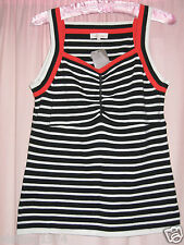 Ladies LAKELAND Size 12 Striped Top BNWT RRP£ 24.99