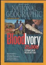 NATIONAL GEOGRAPHIC, OCTOBER 2012 Ivory, Nepal, STILL IN THE MAILING BAG