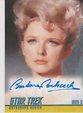 STAR TREK THE ORIGINAL SERIES BARBARA BABCOCK AS MEA 3 AUTOGRAPH CARD A197