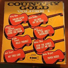 Country Gold Vol 1-lp-buckboard-1005-patsy Cline,