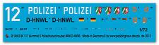 1/72 EP 2683 BK 117 Hummel 5 polizia elicottero NRW