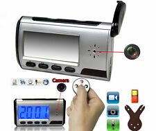 DETECTIVE SECRET *(32GB)* SPY CAM CLOCK HIDDEN VIDEO CAMERA CCTV MOTION DETECTOR