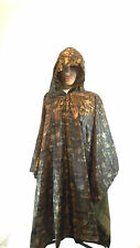 ARMY SPEC WATERPROOF HOODED PONCHO BASHA FESTIVAL FLECKTARN  CAMO + carry Bag