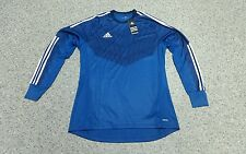 Adidas Torwarttrikot blau XL 10 gk jersey player issue maillot camiseta