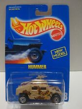 Hot Wheels 1991 Blue Card Hummer Card # 188 1:64 Diecast C37-22