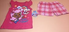 Bubble Guppies Toddler Girl Shirt & Shorts Outfit Set New 3T Molly Bubble Puppy