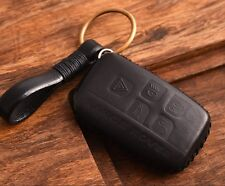 HANDMADE GENUINE Leather Range Rover key chain cover case evoque discovery BB