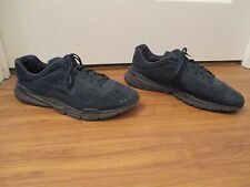 Used Worn Size 14 Nike Air Zoom Moire + ID Shoes Midnight Navy & Black