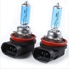 Arrival 2pcs H11 White Fog Halogen Xenon Bulb 100W Car Headlight Lamp 12V