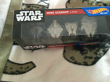 Star wars Hot Wheels  hero and villian starship die-cast starship sets