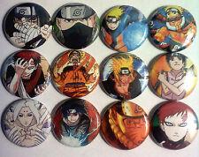 Naruto Anime Naruo Shippuden Kakashi Manga Buttons pins