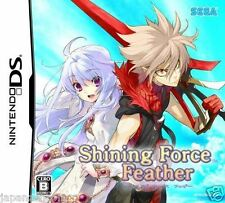 Used DS  Sega Shining Force Feather  NINTENDO JAPANESE IMPORT