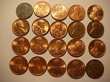 Lot of 20 nice old   Lincoln U.S cent Coins  #9649