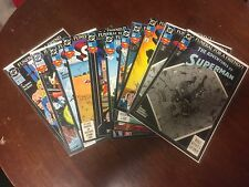 Superman: Funeral For a Friend Complete (1993, DC) A lot of 11 comics