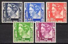 Dutch Indies - 1934 Definitives Wilhelmina - Mi. ex. 223-28 MH