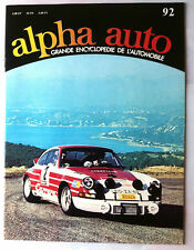 Encyclopédie Alpha Auto n°92; Graham-White/ Graissage/ GP Grande Bretagne/