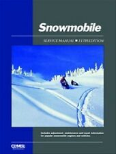 CLYMER SNOWMOBILE SERVICE MANUAL SKI-DOO 1979 1980 1981 BLIZZARD 5500, 81-82 MX