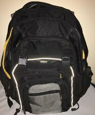 "Targus XL notebook backpack good for laptop up to 17"" size Carry case bag"