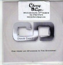 (CS236) Craig David, One More Lie (Standing in the Shadows) - DJ CD