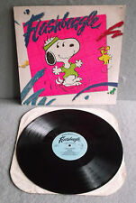 FLASHBEAGLE SNOOPY Charlie Brown Records 1984 LP Children's 2518 PEANUTS SCHULTZ