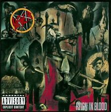 Reign in Blood [Bonus Tracks] [PA] by Slayer (CD, 1986, American)