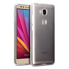 Original Huawei Honor 5X Case Genuine Rock Cover Hybrid Tech Flex Gel TPU Clear