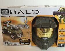 Halo Mega Bloks Blocks Micro Fleet Warthog Spartan Helmet NEW Mega Blocks 97216