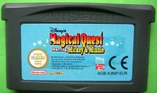 ★☆☆ Gameboy Advance - Disney's Magical Quest Starring Mickey en Minnie ☆☆★