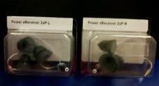 2 NEW Phonak / Unitron POWER Receivers SIZE 2 for Hearing Aids rrp £59.98 pair
