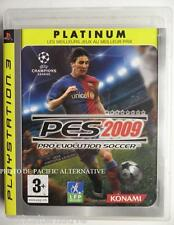 jeu PES 2009 Platinum sur ps3 playstation 3 sony francais foot ball soccer #3