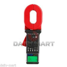 ETCR2000C+ Clamp On Ground Earth Resistance Tester Meter Multimeter RS232