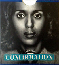 CONFIRMATION, FYC HBO MOVIE EMMY DVD WENDELL PIERCE, KERRY WASHINGTON 2016