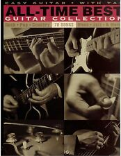 Easy Guitar With Tab Sheet Music 70 Songs Rock Pop Country Blues Jazz and More !