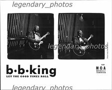 B.B. King Let the Good Times Roll MCA Original Press Photo