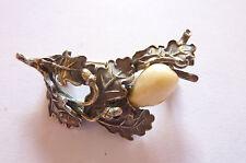 """Wunderschöne sehr seltene antike Brosche in Silber """"Tracht Jagd Grandl"""""""