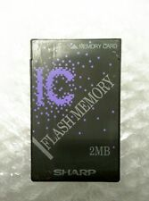 SHARP 2MB FLASH MEMORY PCMCIA LINEAR CARD PLC ID240D02