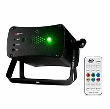 American DJ Micro 3D II Green & Red Laser Lighting Effect w/ Wireless IR Remote
