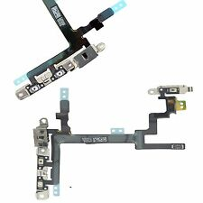 NEW Power Flex Cable - Mute Switch - Volume Buttons With Brackets For iPhone 5