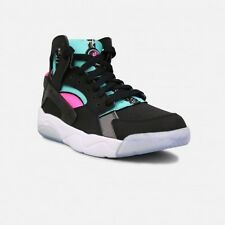 NIKE 705281 003 FLIGHT HUARACHE BLACK/PINK/TEAL/WHITE  New! Youth Size 4.5Y