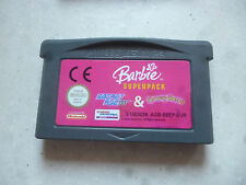 gameboy game boy advance barbie superpack secret agent & groovy games