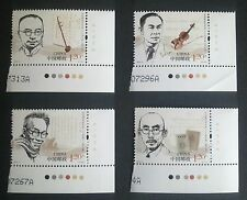 CHINA-CHINY MNH - Chinese Musicians, 2012, clean